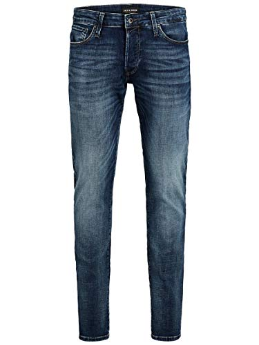 JACK & JONES Herren Slim Fit Jeans Glenn Con 057 50SPS 3234Blue Denim