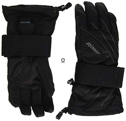 Ziener Damen Milana As(r) Lady Glove Sb Snowboard-handschuhe, black, S