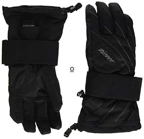 Ziener Damen Milana As(r) Lady Glove Sb Snowboard-handschuhe, black, M