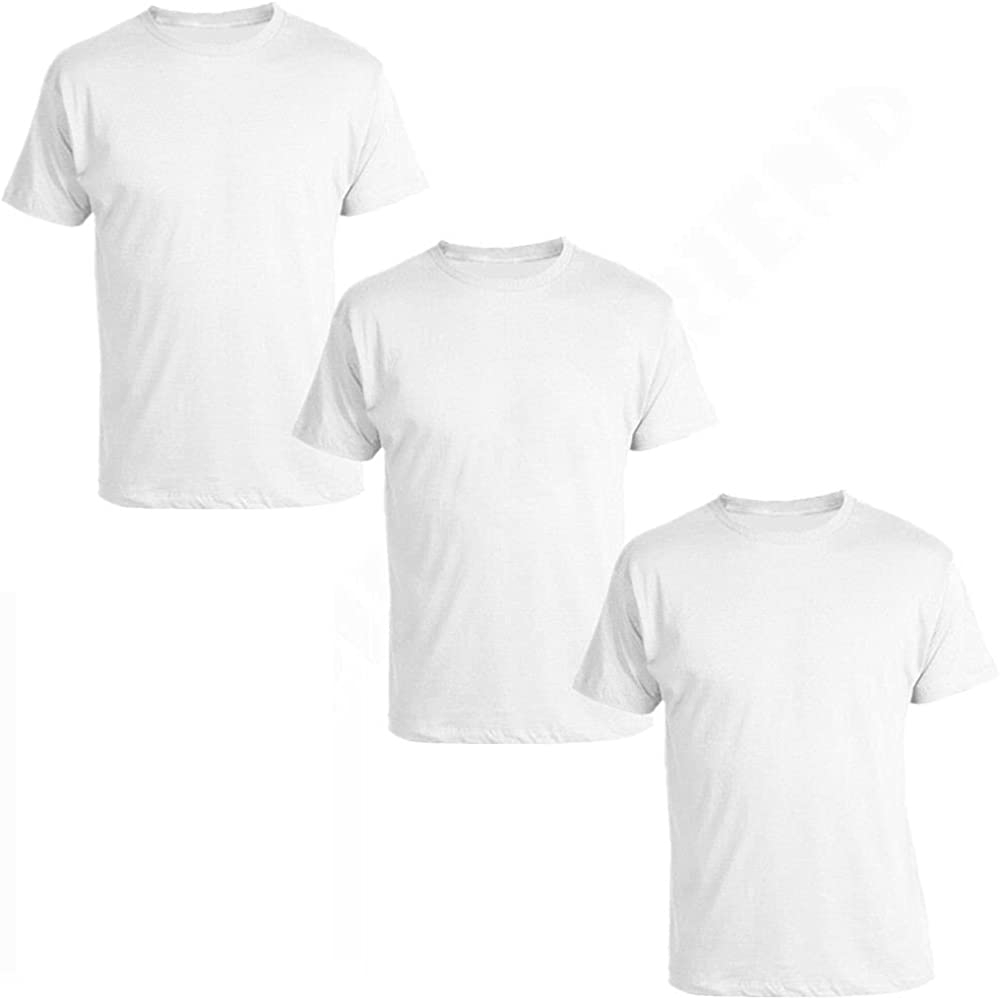 Goyoma Animer and price revision Men 100% Cotton Thick Max 69% OFF Basic Tee Crew Neck T-Shirt Casual