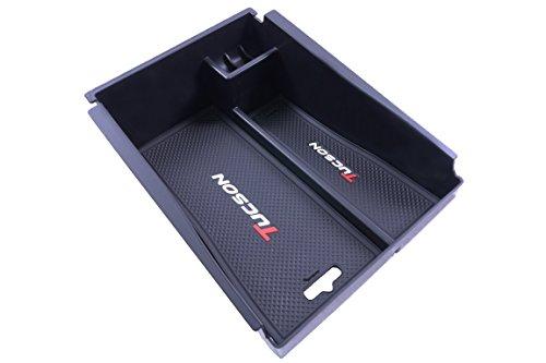 Vesul Armrest Secondary Storage Box Glove Pallet Center Console Tray Fits on Mitsubishi Outlander Sport 2012 2013 2014 2015 2016 2017 2018