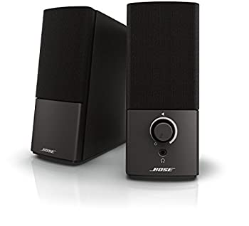 Bose Companion 2 Series III Multimedia Speakers - for PC  with 3.5mm AUX & PC Input  Black