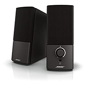 Bose Companion 2 Series III Multimedia Speakers – for PC (with 3.5mm AUX & PC Input) Black