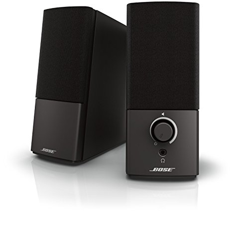 Our #1 Pick is the Bose Companion 2 Series III Multimedia Computer Speakers
