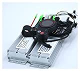 KXLBHJXB Doble Unidad 36V / 48V 350W BLDC Controlador de Scooter eléctrico E-Bike 2 PCS Conductor de Velocidad sin escobillas y 1pcs LCD Pantalla One Set (Color : 36V Set)