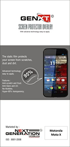 Genxt Clear HD Screen Guard For Motorola Moto X (1st Gen.)