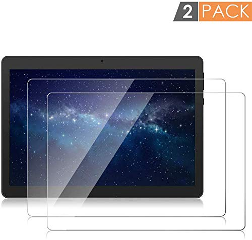 AKNICI 2-Pack 10 Inch Tempered Glass Screen Protector Compatible with Dragon Touch K10/TAOERA/SZWEIL/MaiTai/TYD/Tianyida/K17 K107/MAIJEEP/BENEVE/KXD/KuBi/HONGTAO/LNBEI/ibowin/Haehne/CHAOHENG
