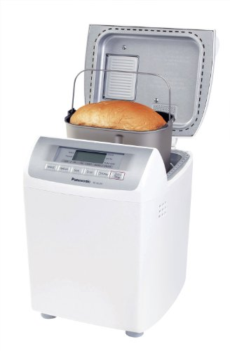 Panasonic SDRD250W Bread Maker with Raisin/Nut Dispenser, White