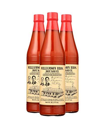 Williamson Bros. Bar-B-Q Hot Sauce 6 fl oz, 3 Pack