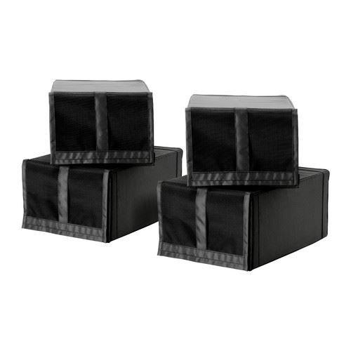 Schwarze Schuh-Box, Modell: Skubb