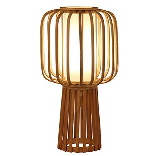 WRZ tafellamp van bamboe, creatief, persoonlijkheid, decoratie, kunst, voorbereiding bamboe, hand, kinderen, leeslamp, lampenkap, lichtbron E27