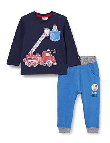 Salt & Pepper Baby-Jungen 05228123 Kleinkind-Ausstattung, Navy mid Blue, 80