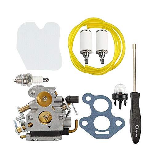 Carburetor Carb Fits Husqvarna 235 235E 236 236E 240 240E Chainsaw Replace 545072601 574719402 for Jonsered CS2234 CS2238 CS2234S CS2238S with Tool Primer Pulb Fuel Line Filter Spark Plug Tune Up Kit