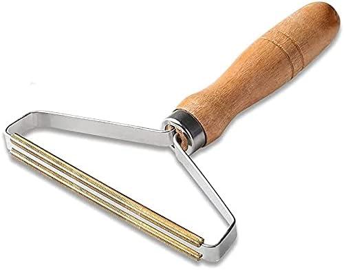 wood handle with metal scraper