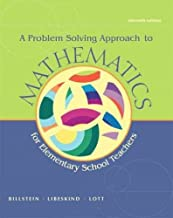 Mathematics Activities for Elementary School Teachers, Problem Solving Approach to Mathematics, and MyMathLab -- Valuepack Access Card (11th Edition)