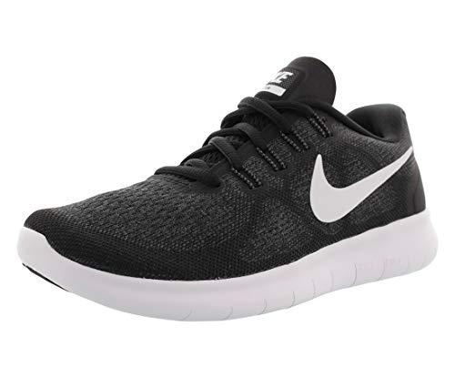 Nike Women's Free Rn 2017 Running Shoes , Black/White-Dark Grey-Anthracite, 5 UK(38.5 EU)