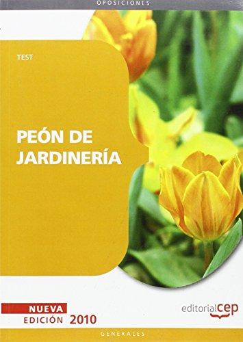 Peón de Jardinería. Test (Colección 92)