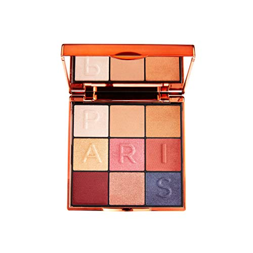 L'Oréal Paris Makeup Cofanetto Idea Regalo Donna Palette 9 Ombretti Satinati Snow Globe Palette, Colori Metallici ed Eleganti per un Look Luminoso