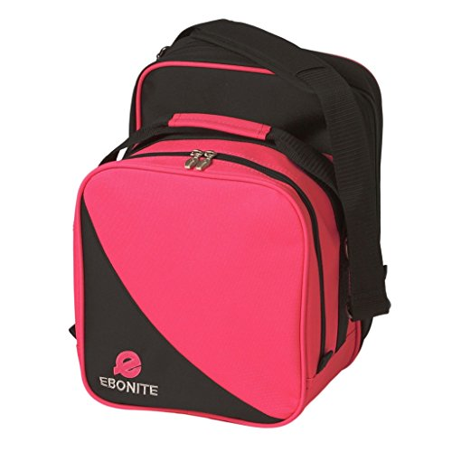 Ebonite Compact Single Bowling Bag viele Farben, rose