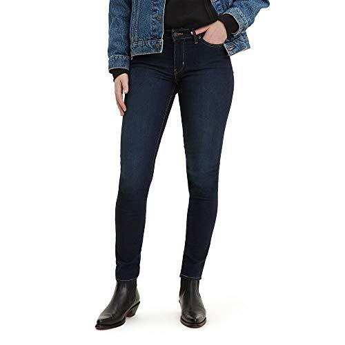 Levis Womens 711 Skinny Jeans, Indigo Ridge, 28 (US 6) S