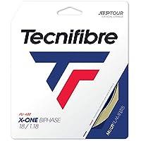 テクニファイバー(Tecnifibre) 硬式テニス ガット エックスワン バイフェイズ 12m ナチュラル 1.34mm TFG203