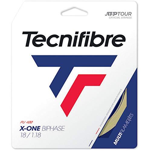 Tecnifibre X-One Biphase 12m Saitenset-Nude Tennissaite, 1.30