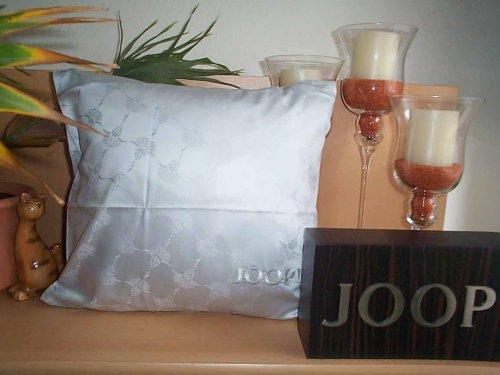 Joop. Bettwäsche-Set aus Baumwoll-Satin, Cornflower 4020 fodera cuscino singola 40 x 40 cm silber / schwarz