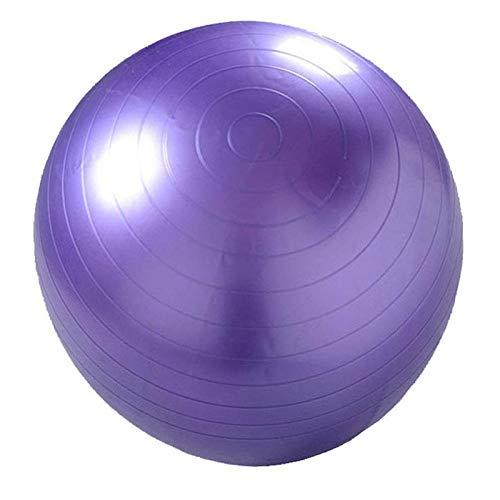 Bolas De Yoga Marca A Prueba De Explosión For La Aptitud con 7 Colores Que Adelgaza Pilates Gym Balls Niñas Antideslizantes Equilibrio Gym Balls Zzib (Color : Purple)