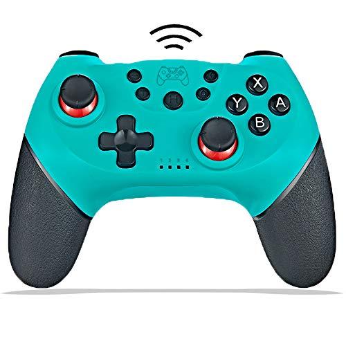 Mando inalámbrico para Nintendo Switch & Switch Lite Bluethtooth Nintendo Switch Pro Controladores Gamepad Joystick con batería recargable, doble choque, giroscopio de 6 ejes, Turbo