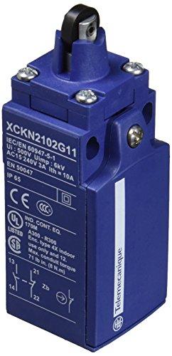 Schneider XCKN2102G11 Positionsschalterkopf Kunststoff-Rollenstößel, 1Ö+1S, Sprungfunktion, Pg 11