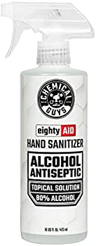 Chemical Guys Alcohol Antiseptic 80% Topical Solution Hand Sanitizer
