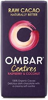 Ombar Raspberry & Coconut Raw Chocolate Centre - 35g (0.08lbs)