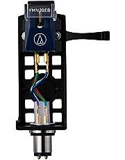 Audio Technica VM520EB/H Headshell/Moving Magnet Phono Cartridge Combo Kit with Elliptical Stylus 1/2 Mount for 4-Pin (Black/Blue)