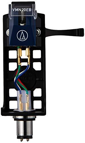 Audio-Technica VM520EB/H Plattenspieler-Headshell/Kartuschen-Kombi-Kit, Schwarz