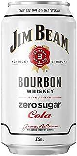 Jim Beam White & Zero 375mL Can 30 Pack 375mL Case of 30