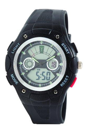 Dunlop Orologio Digitale Quarzo Uomo con Cinturino in Gomma DUN237G01