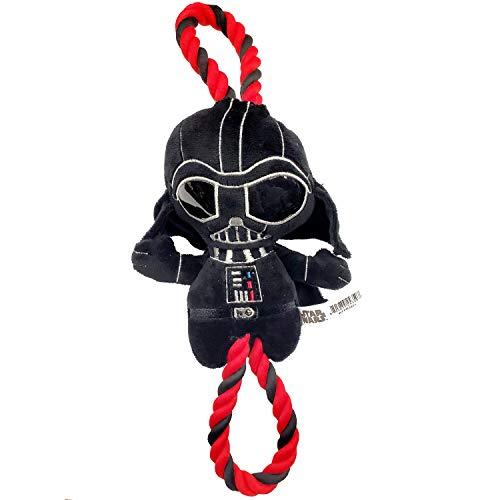 Silver Paw Star Wars Darth Vader 15 inch Rope Dog Toy