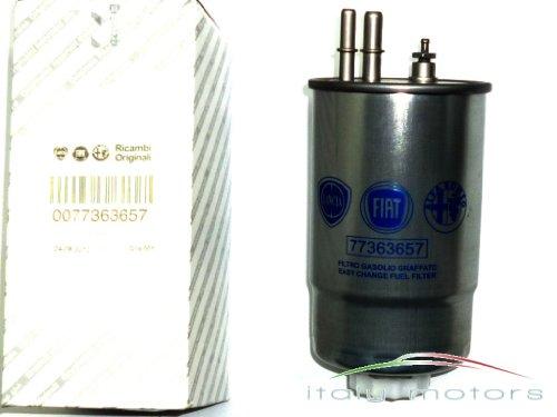 Original Fiat Stilo 1,9JTD Multi Jet Diesel filtro Filtro de combustible–77363657