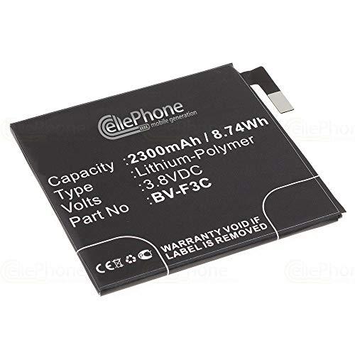 cellePhone Akku Li-Polymer kompatibel mit Nokia Lumia 650 XL (Ersatz für BV-F3C)