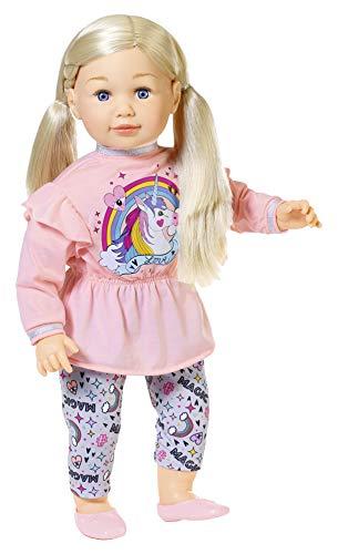 Zapf Creation 877654 Sally Große Puppe mit langen Haaren und weichem Körper, 63 cm