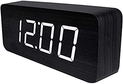 CHEREEKI Reloj Despertador Digital, Relojes de Pantalla LED ...