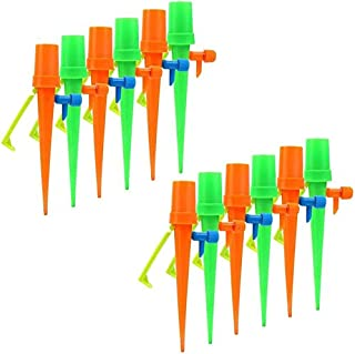 SIZOO - Watering Kits - Plant Automatic Waterer Drip Irrigation Slow Release Device with Anti-Falling Waterer 24 Packs