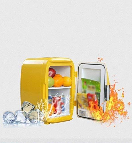 FDSZ Mini refrigerador, refrigerador portátil Compacto, Doble Uso de duales para automóviles y hogares