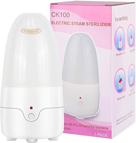 TMSL Multifunción Taza Menstrual Esterilizador de Vapor Limpiador Eléctrico Portátil Menstrual Cup Clean