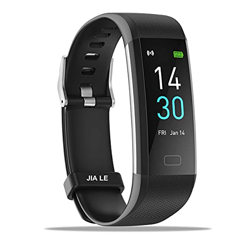 Fitness Trackers, Activity Trackers Step Counter with Heart Rate, Blood Pressure, Sleep Monitor, Fitness Tracker Waterproof Pedometer Watch for Kids Women Men Compatible iPhone and Android