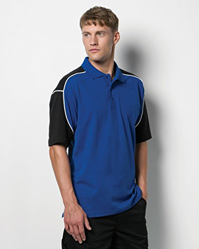 FORMULA RACING - Polo - Homme Royal/Black/White