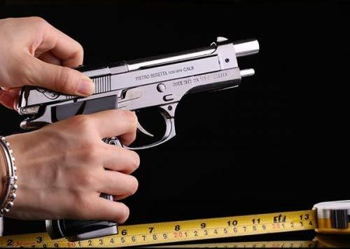 WBD 9 mm Pistol Gun Shaped Cigarette Lighter
