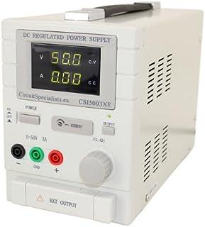 Circuit Specialists CSI 12001X Laboratorio DC chapado PSU Potencia anodizado 0-120 V 0-1 A