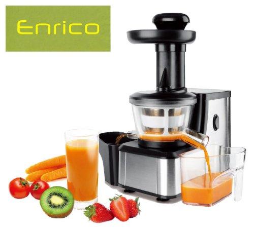 Enrico M-Line Slow Juicer Entsafter Saftpresse Obstpresse Gemüsepresse