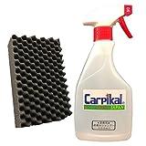 カーピカル 撥水カーシャンプー 専用マイクロ洗車スポンジ付き [ノーコンパウンド] 洗車シャンプー (500ml)